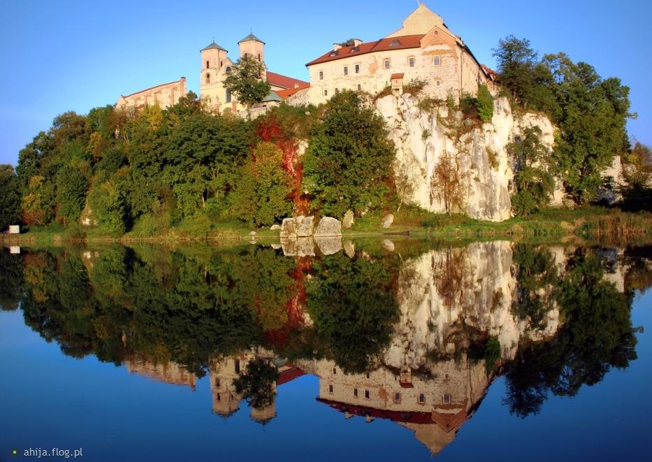 Klasztor w Tyńcu.