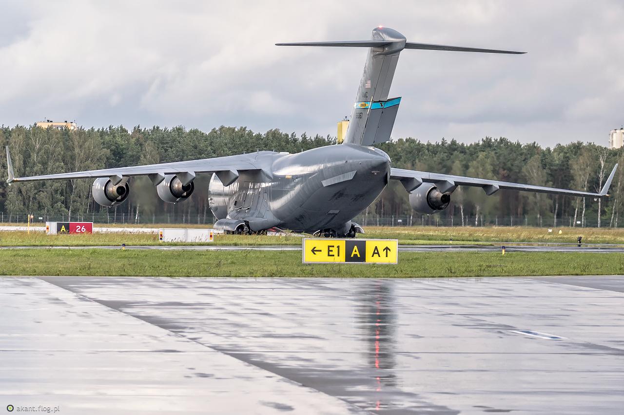 USAF Boeing C-17  - 66167 DOVER
