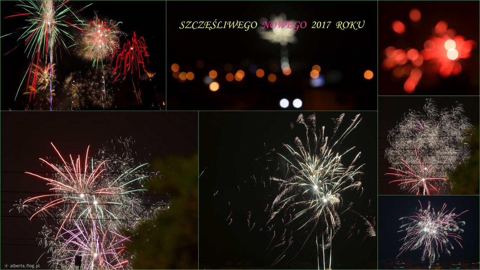 Nowy rok z fajerwerkami