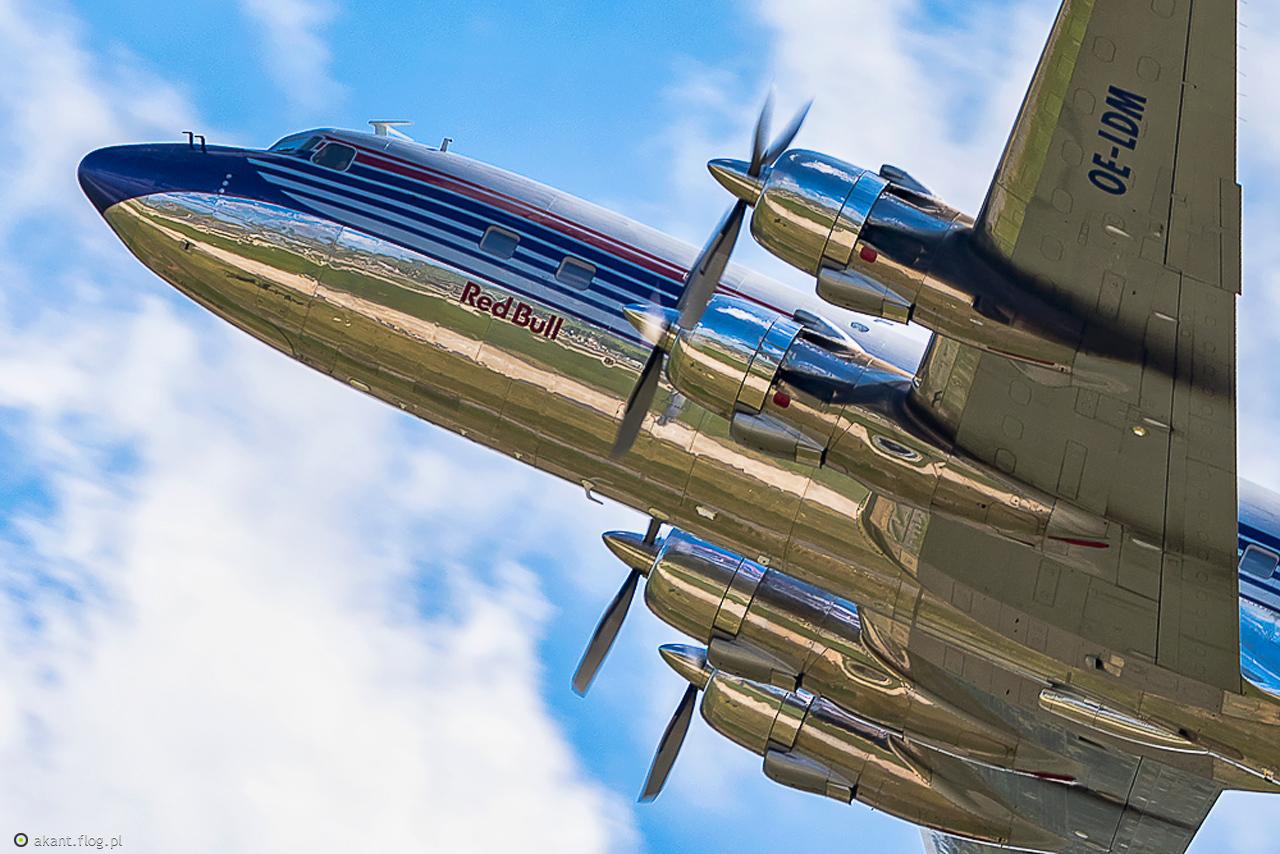 The Flying Bulls.....Douglas DC-6B