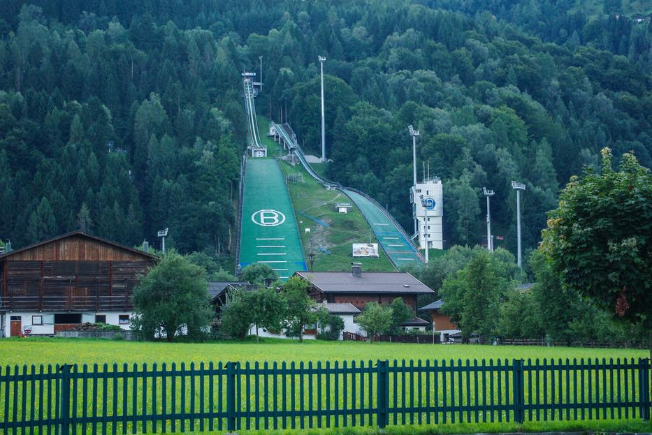 Słynna skocznia narciarska w Bischofshofen :)