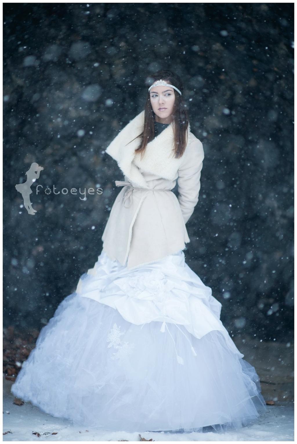 Śnieg jak na zamówienie :-)