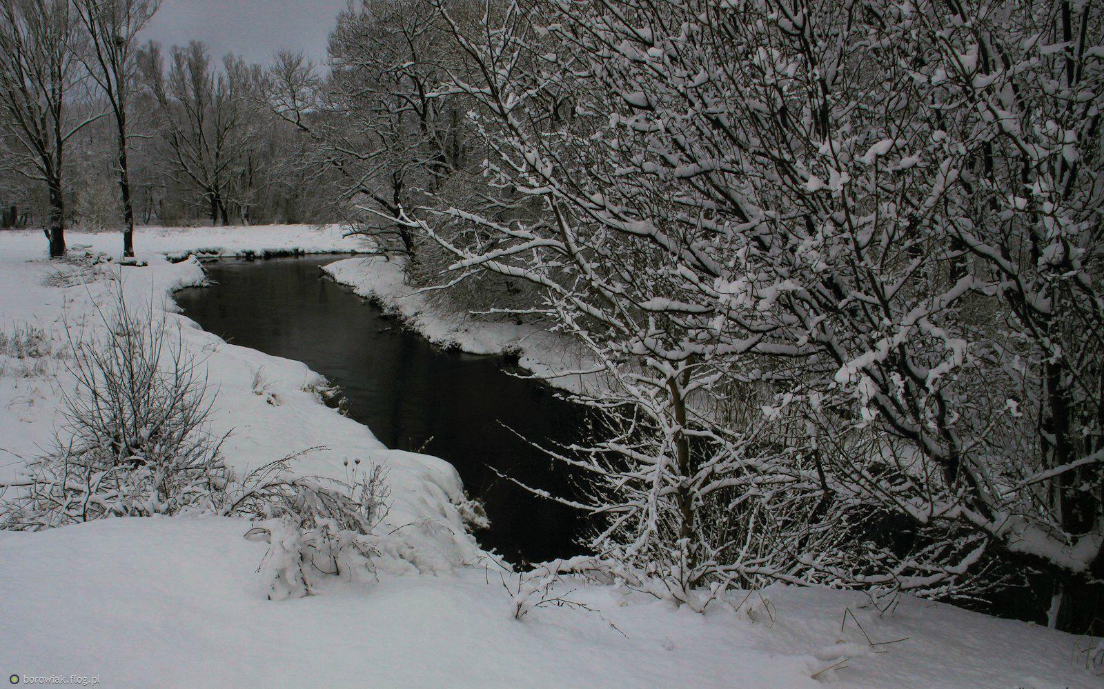 Reda, rzeka Północnych Kaszub...