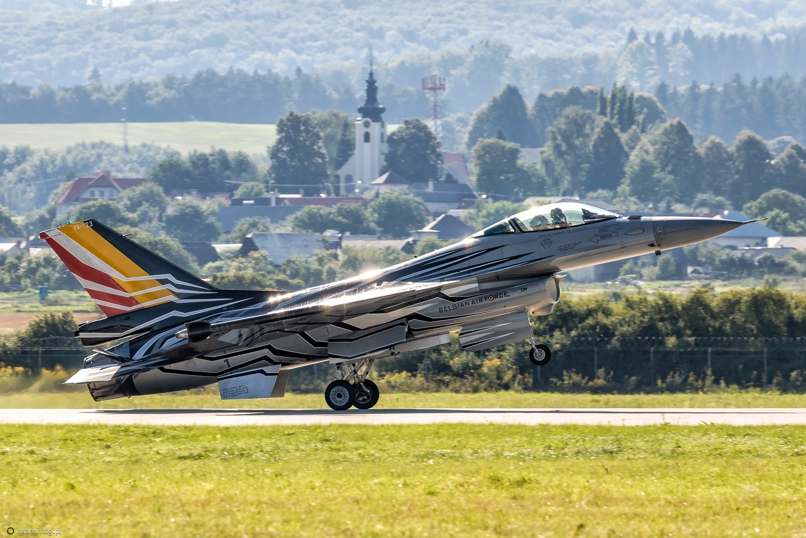 F-16A  Belgian Air Force