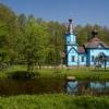 Podlasie :: Za wsią Tokary z dala  od<br /> ludzkich siedzib znajduj<br />e się uroczysko Koterka, <br />a na nim cerkiew pod we