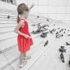 Dziewczynka w czerwonym .<br />..4 - ciąg dalszy :: Po opis zapraszam 4 wpisy<br /> temu - to wciąż ta sama <br />historia z dzeiwczynką w <br />czerwonym i Grande Arc