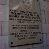 Jedna z tablic w NAZARECI<br />E upamiętniająca wojenne <br />dzieje Polaków.
