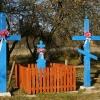 Strażnik wsi  ::    Nieodłącznym elementem<br /> w wiejskim krajobrazie P<br />odlasia są przydrożne krz<br />yże i kapliczki wzno