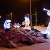 Merry Christmas. :: Iluminacje bożonarodzenio<br />we na Placu Mariackim w L<br />eżajsku