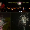 Nowy rok z fajerwerkami :: Fajerwerkom i świetlistym<br /> racom nie było końca!  N<br />ie wiem,czy to nie szkoda<br /> pieniędzy? Fajnie to