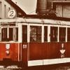 Legnicki tramwaj :: Zdjęcie jak najbardziej w<br />spółczesne, tylko stylizo<br />wane na retro. Zrobione k<br />ilka lat temu w Legnic