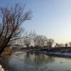 Zimowo nad Prosną .