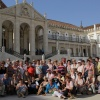 Na dziedzińcu najstarszeg<br />o uniwersytetu w Portugal<br />ii - Coimbra-1290 rok zał<br />ożenia.